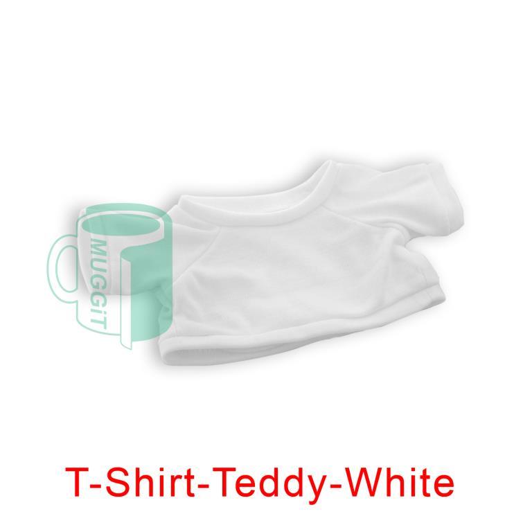 Toys Soft Plush Toy Tshirt Teddy White